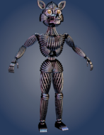 Funtime Foxy Endoskeleton