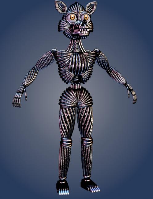 Image Funtime Foxy Endoskeleton Png Fnaf Sister