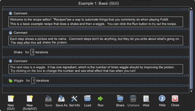Recipe Example 1
