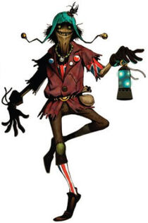 Characters Scarecrow concept