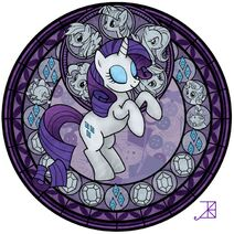 Rarity stained glasses