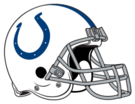 Indianapolis Colts helmet rightface svg