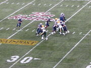 Anthony Calvillo game action, 93rd Grey Cup