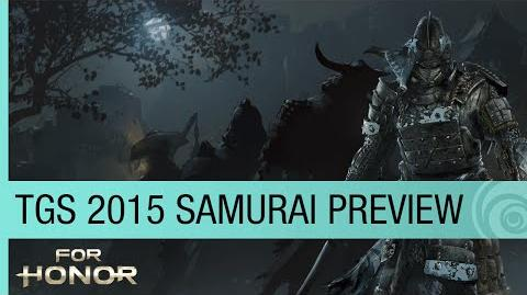 For Honor Official Trailer – TGS 2015 Samurai Preview - The Oni US
