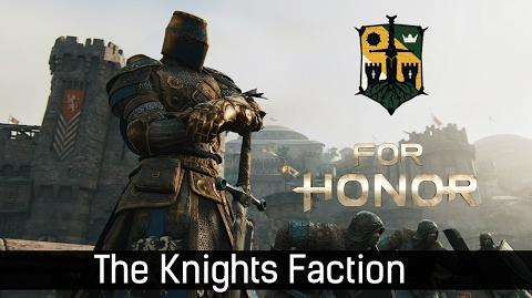 For Honor - The Knights Faction trailer