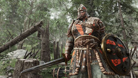 Viking at harrowgate watching battle - for honor