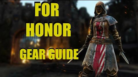 FOR HONOR Gear Stat Guide!