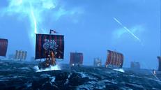 Up The Beach - Vikings at sea