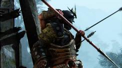 Reconnaissance - samurai make good shields for arrows