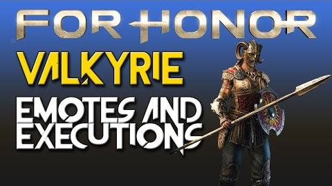 For Honor - Valkyrie - Emotes & Executions