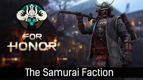 For Honor - The Samurai Faction trailer