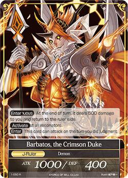 Barbatos, the Crimson Duke
