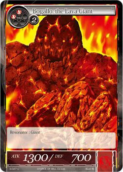 Bogallo, the Lava Giant