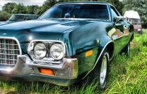 Old Ford Torino Ranchero hdr