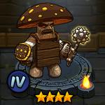 Carnivorous Mushroom