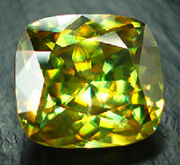 Sphene-faceted-yellow