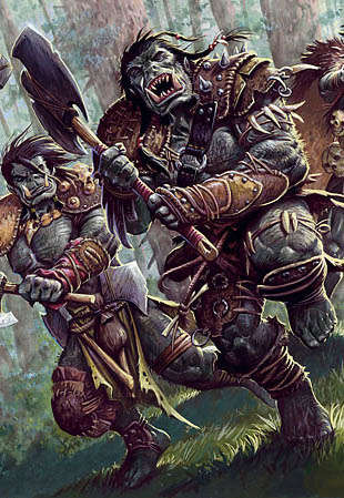 Image result for Orcs Dungeons and Dragons