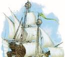 Halruaan skyship