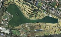 Albert Park Circuit Earth