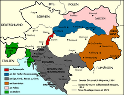 Map of Pre Trianon Hungary