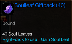 ItemSoulleafGiftpack40Description