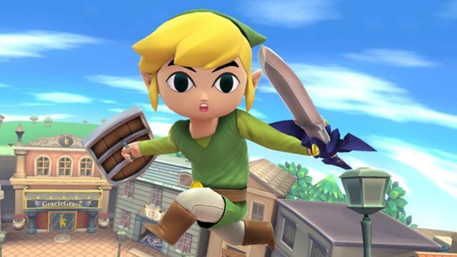 File:SSMB WiiU - Young Link Screenshot.jpg