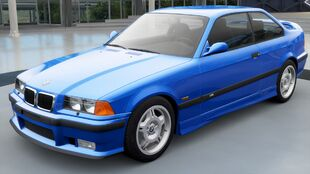 The BMW M3 (E36) in Forza Horizon 3