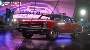 The 1965 Pontiac GTO in Forza Horizon 3