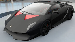 The Lamborghini Sesto Elemento in Forza Horizon 3