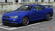 FM4 Nissan SkylineGTR-R34