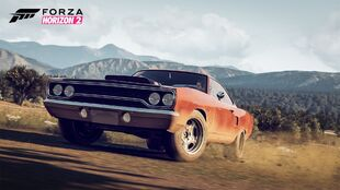 The Plymouth Road Runner Fast & Furious Edition in Forza Horizon 2