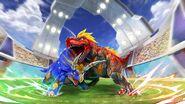 Tricera vs T-Rex