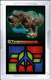 Ar-card tyrannosaurus