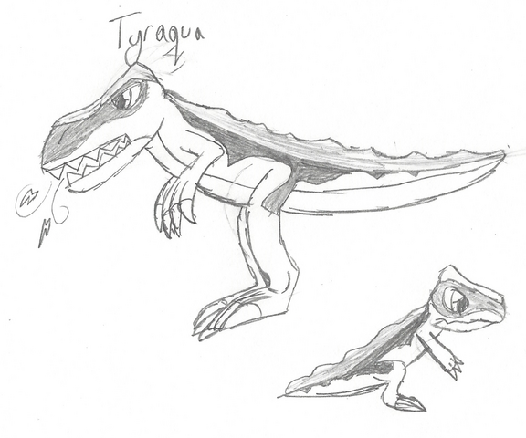 File:Tyraqua (Tyranno) drawing.png