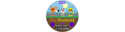 Fox Hominid & Minecraft Chicken