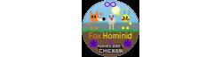 Fox Hominid & Minecraft Chicken