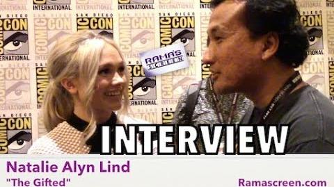 My SDCC 2017 Interview with 'THE GIFTED' Star, Natalie Alyn Lind