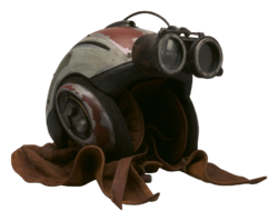 Casque de podracing d'Anakin Skywalker