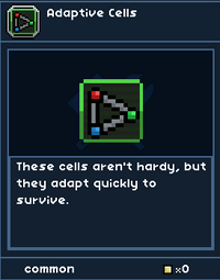 Adaptive Cells
