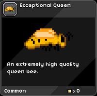 Exceptional Queen