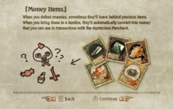 Money Items Tutorial