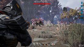 Hunting mubark in studded mubark armor