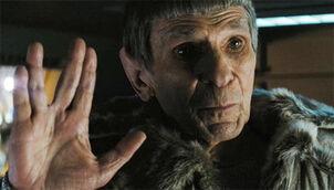Star Trek 2009 - Nimoy As Spock