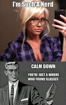 Whore With Glasses