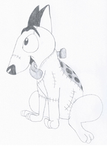 Sparky in my style by gdl the pup-d6h3xbe