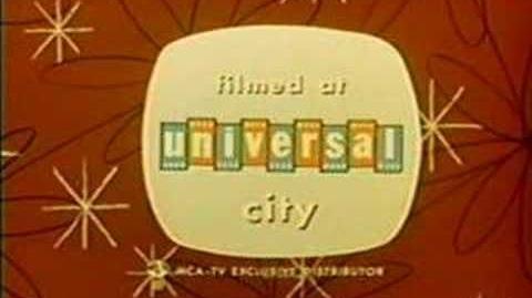 Universal Television closing logo 1963