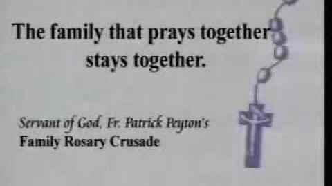 Please pray The Rosary TVC