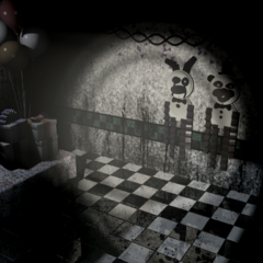 Party Room 4, but Paper Balloon Boy is missing.