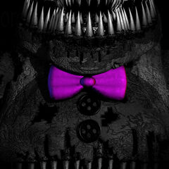 The sixth teaser, an image depicting Nightmare Fredbear's torso. When brightened,