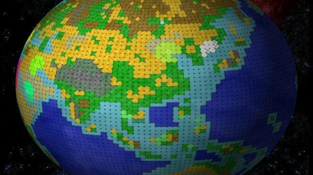 Freeciv Greatturn GT05 - 3D spinning globe